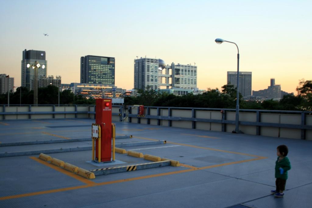 台場の空-2007年11月12日-