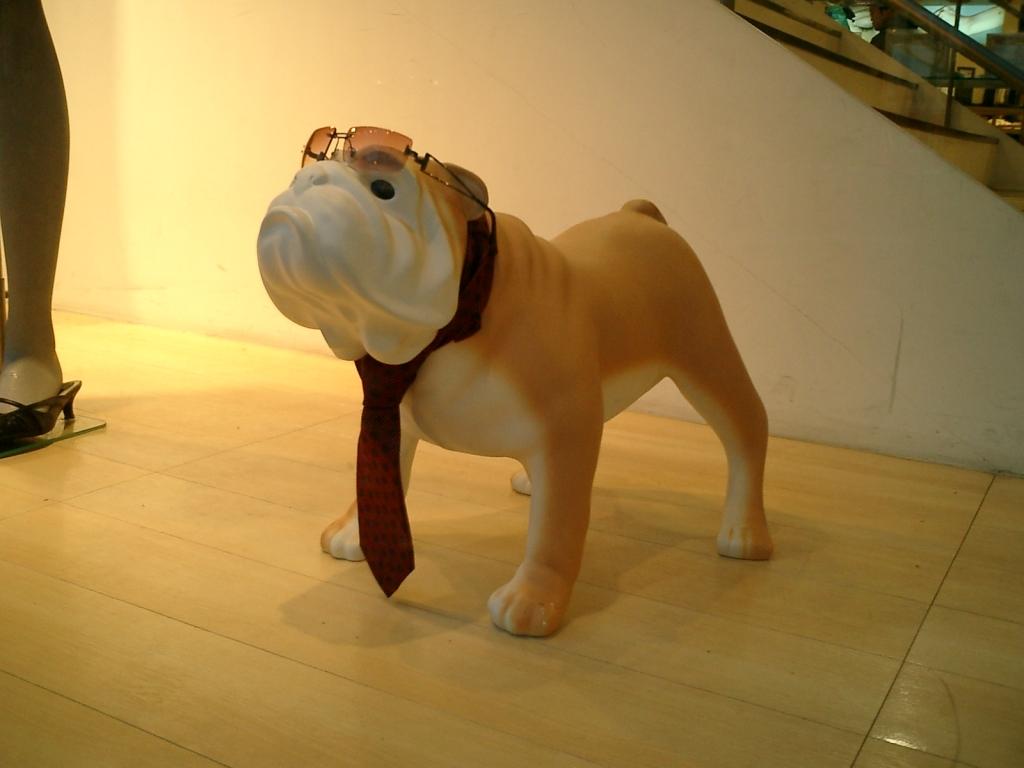 オシャレ犬