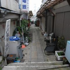 旧唐人屋敷路地裏・長崎