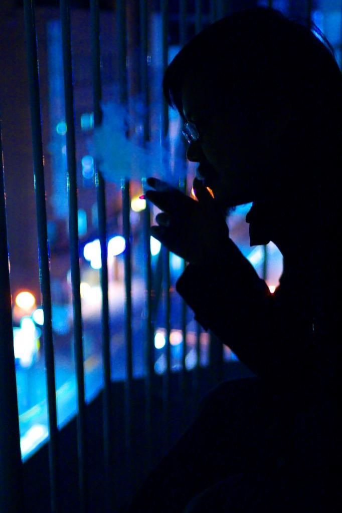 night smoking
