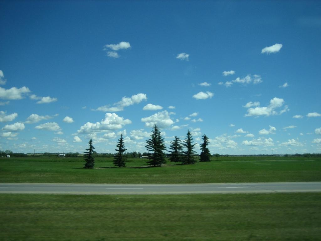 水平線と雲