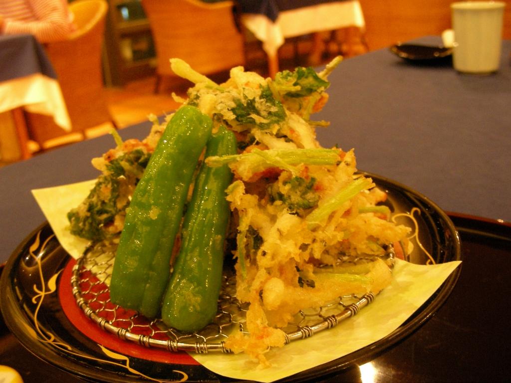 春野菜の天ぷら(かき揚げ)