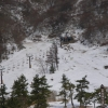 暖冬のゲレンデ