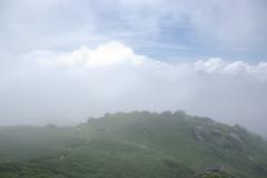 宮之浦岳、山頂