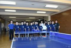 20181006 福島県田村市立 船引中学校男子卓球部