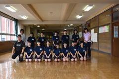 20181006 福島県田村市立 船引中学校女子卓球部