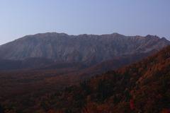 大山 紅葉