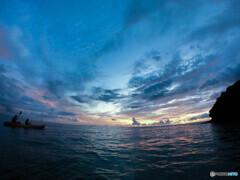 沖縄 サンセットカヤック