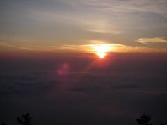 富士山 御来光