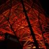 赤く輝くタワー