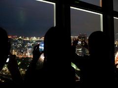 東京の夜景を思い出に詰めて