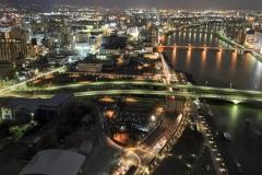 夜景from新潟