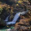 七ツ釜滝下段の滝(三重県大台町大杉谷)