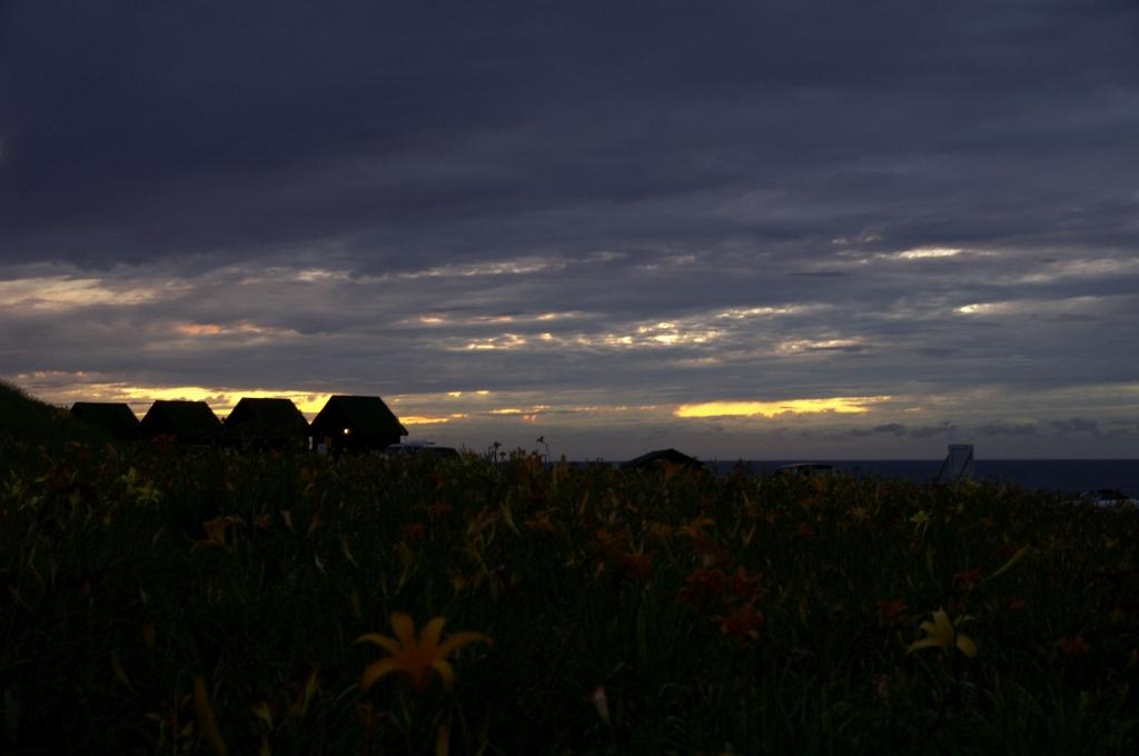 初山別の夕暮れ1