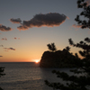 夕陽の見える宿