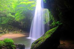 阿蘇の自然美〜小国町〜鍋ヶ滝