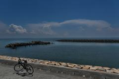夏雲と播磨灘1