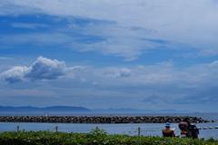 夏雲と播磨灘4