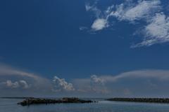 夏雲と播磨灘2