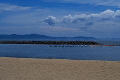 夏雲と播磨灘5