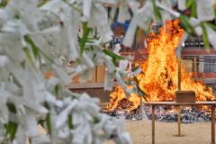 住吉神社のどんと焼き