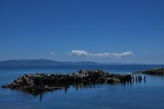 夏雲と播磨灘7