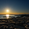仲秋の播磨灘の夕景1