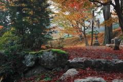 京都南丹龍隠寺(りょうおんじ)の紅葉3