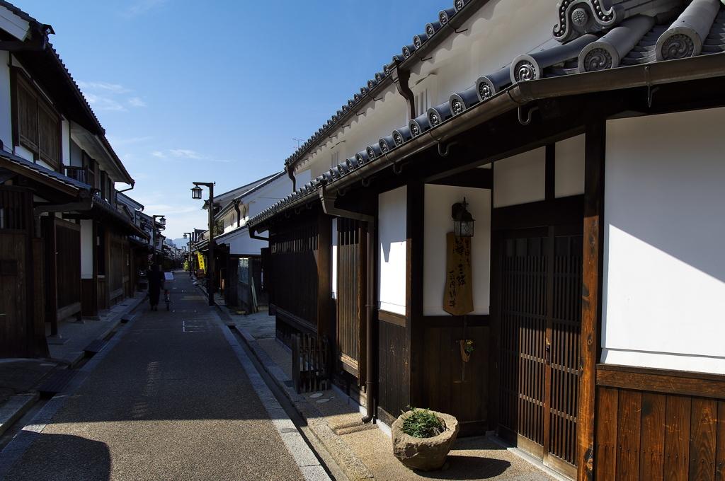 古い街並み(今井町)2