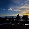 橋杭岩(はしぐいいわ)の夜明け2