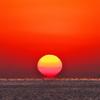 2021年播磨灘の夕日2