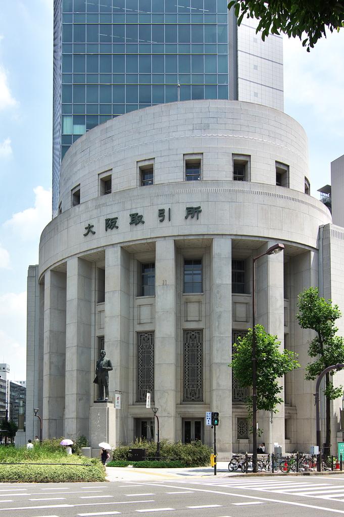 中之島近代建築巡り4(大阪証券取引所)