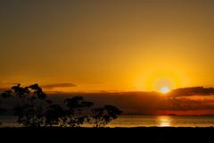 初秋の播磨灘の夕景4