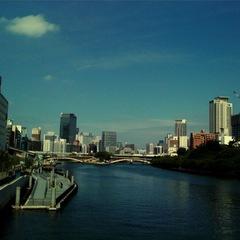 大阪天満橋から
