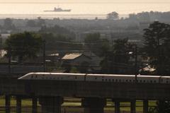 北陸新幹線+船