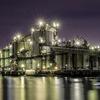 工場夜景ー2