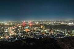 若戸大橋夜景