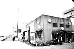 港街の一角