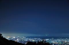 山原からの眺め