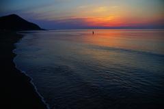 夕凪の釣り