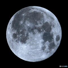 月齢15.32 スーパームーン 十六夜月