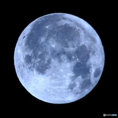 月齢15.59 十六夜月 満月