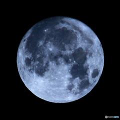 月齢14. 63  望月 十五夜