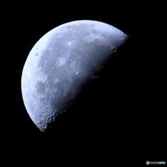 月齢22.51 弓張月 下弦