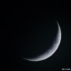 月齢3.4 夕月