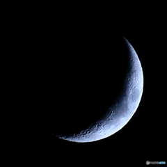 月齢4.6 夕月