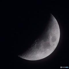 月齢5.3 夕月