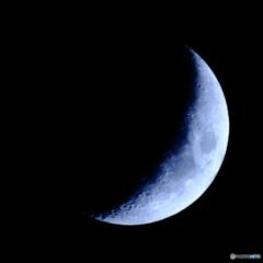 月齢5.24 夕月