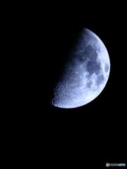月齢8.33 上弦の月
