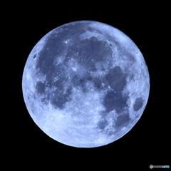 月齢15.31 十六夜月 満月